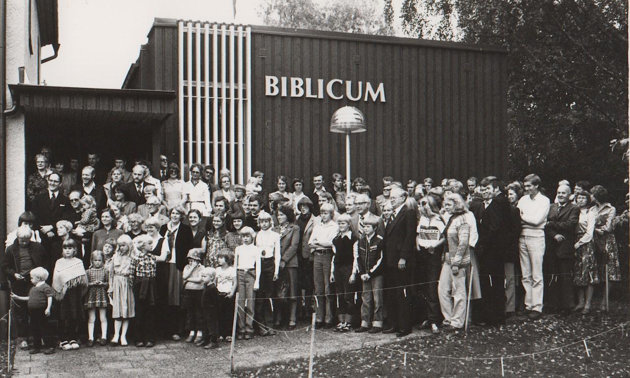 Invigning av Biblicums tillbyggnad